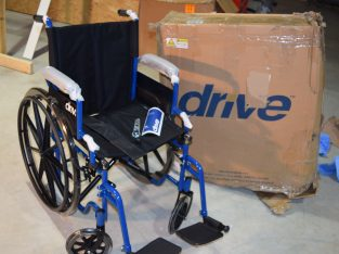 Drive Wheelchair Blue Streak