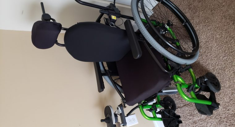 Power Assist Wheelchair