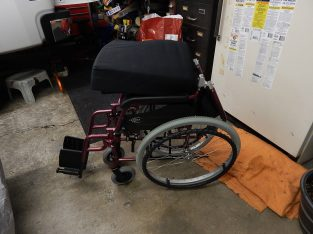 Karman, light weight portable wheel chair