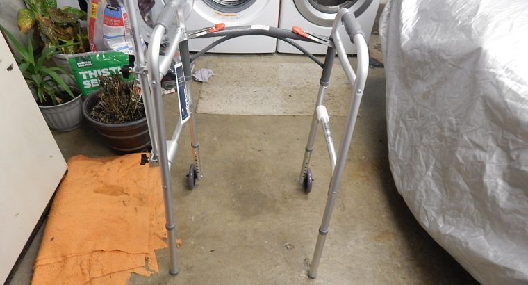 Drive medical, aluminum therapy walker with amputated arm attachment