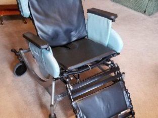 Broda Synthesis Tilt Recliner Wheelchair